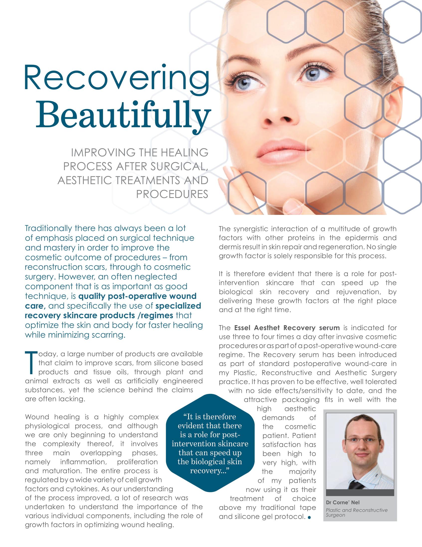 recovering serum